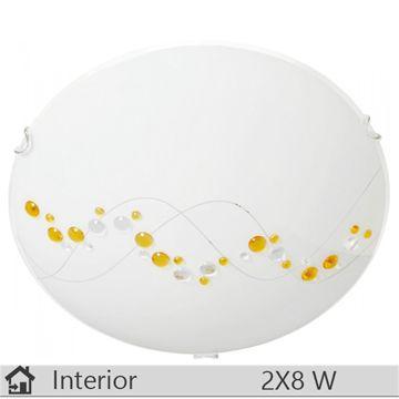 Plafoniera iluminat decorativ interior Klausen, gama River, model D400