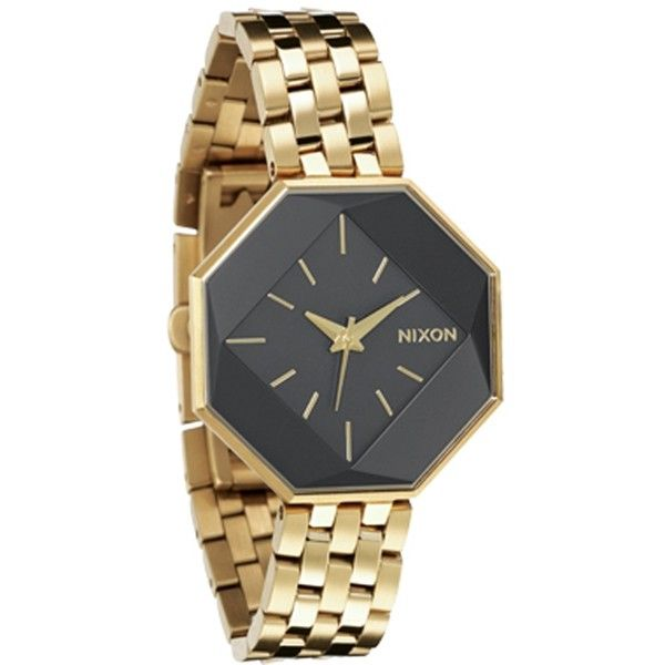 Nixon Womens Watch Capulet Gunmetal Gold