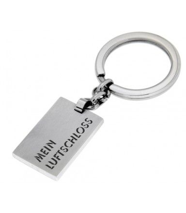 Schlüsselanhänger aus Edelstahl mit eigener Gravur