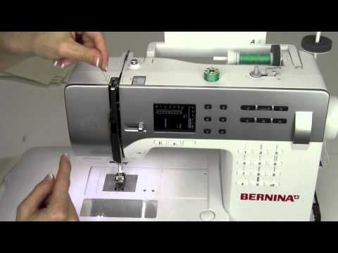 Bernina Walking Foot - Unboxing & Using - YouTube