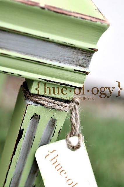 Hueology - furniture painting/wax finishes