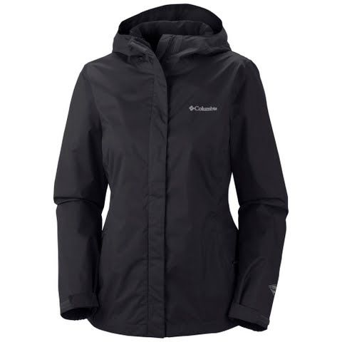 Columbia Women's Arcadia Ii Jacket - Black: Waterproof breathable and packable Columbia`s Arcadia II Jacket is built to shield you from…