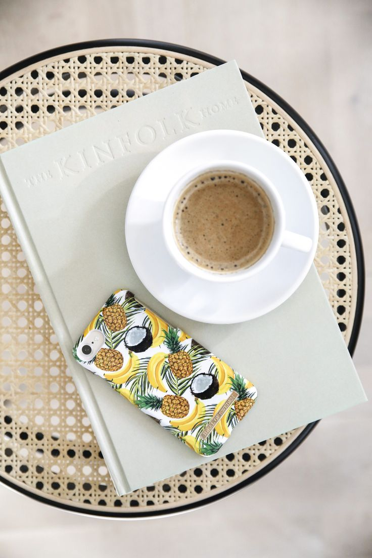 Banana Coconut by lovely @emmamelins - Fashion case phone cases iphone inspiration iDeal of Sweden #Tropcial #pineapple #palms #leaf #pina colada #yellow #fashion #inspo #iphone