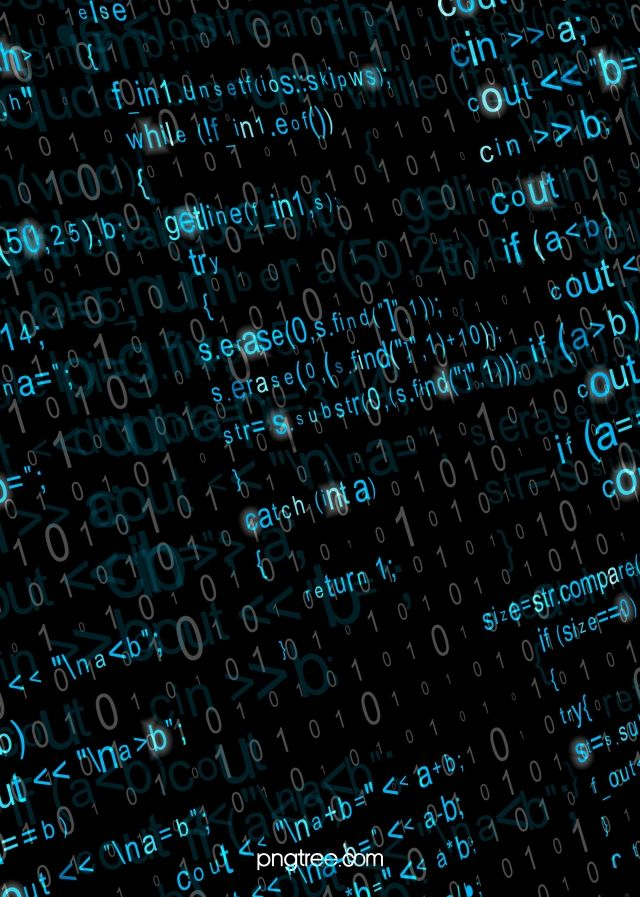 Blue Programming Code Character Background In 2020 Programming Code Code Wallpaper Coding