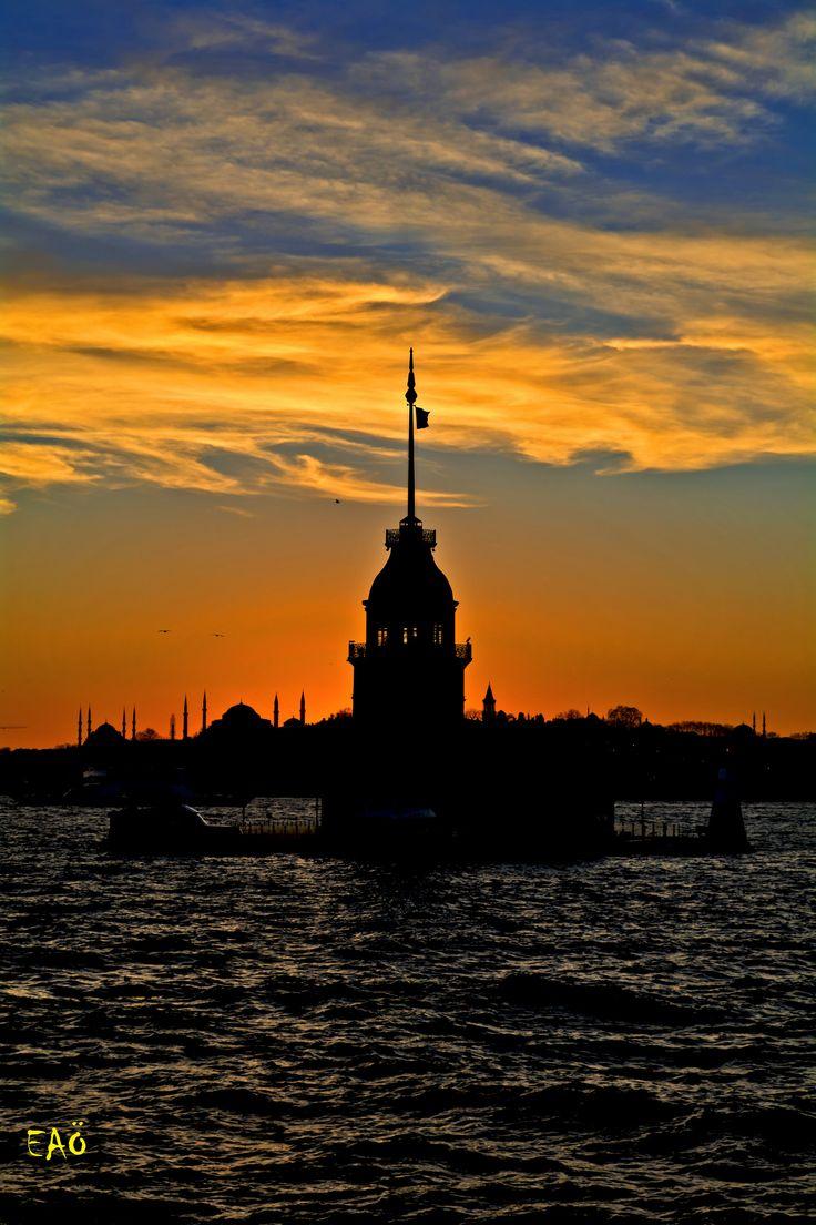 Colorful Istanbul | MaidenTower,Uskudar, Istanbul