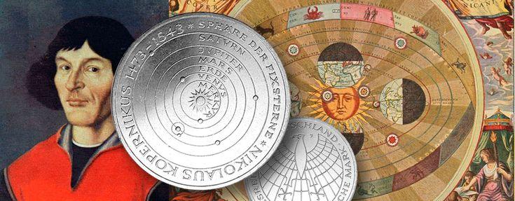 Numismatisches Kalenderblatt: 19. Februar 1473 - Nikolaus Kopernikus wird geboren