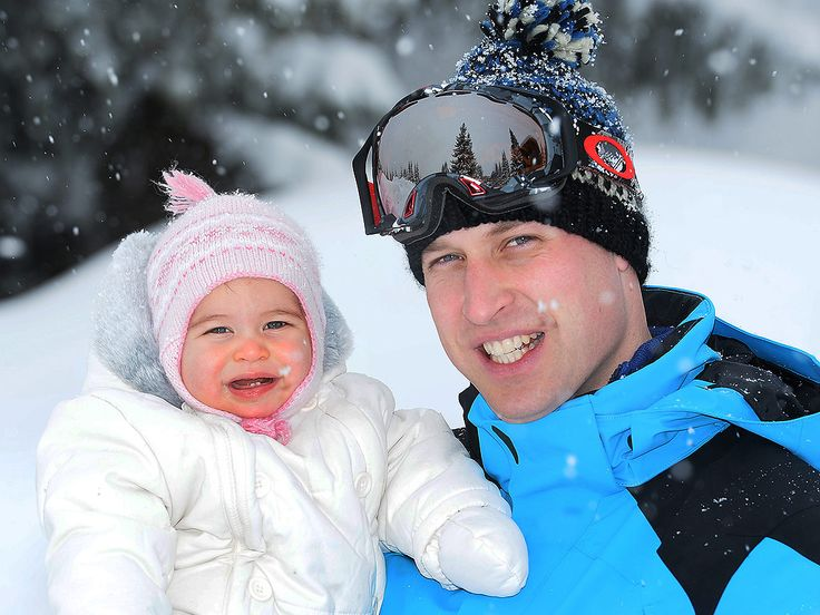 See Adorable New Pictures of Prince George and Princess Charlotte on Skiing Break| The British Royals, The Royals, Kate Middleton, Prince George, Prince William, Princess Charlotte