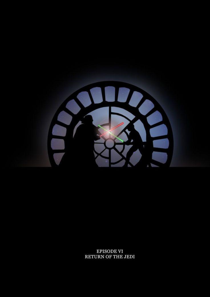 Star wars Return of the Jedi by Alan Coughlan
