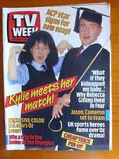 TV Week Magazine , Vintage 80's, September 10 1988, Perfect Match, Kylie Mole