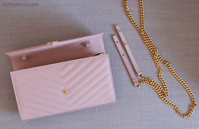 ysl handbag sale - Bag review: YSL Saint Laurent wallet on chain \u0026amp; Cassandre purse ...