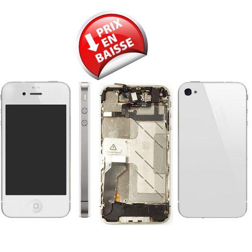 iphone 4S Kit de remise à neuf complet Blanc