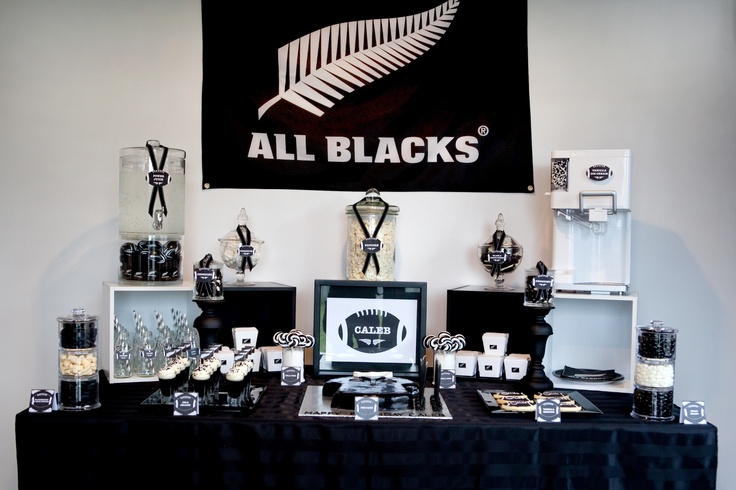 All Black's Table for the Rugby Fan