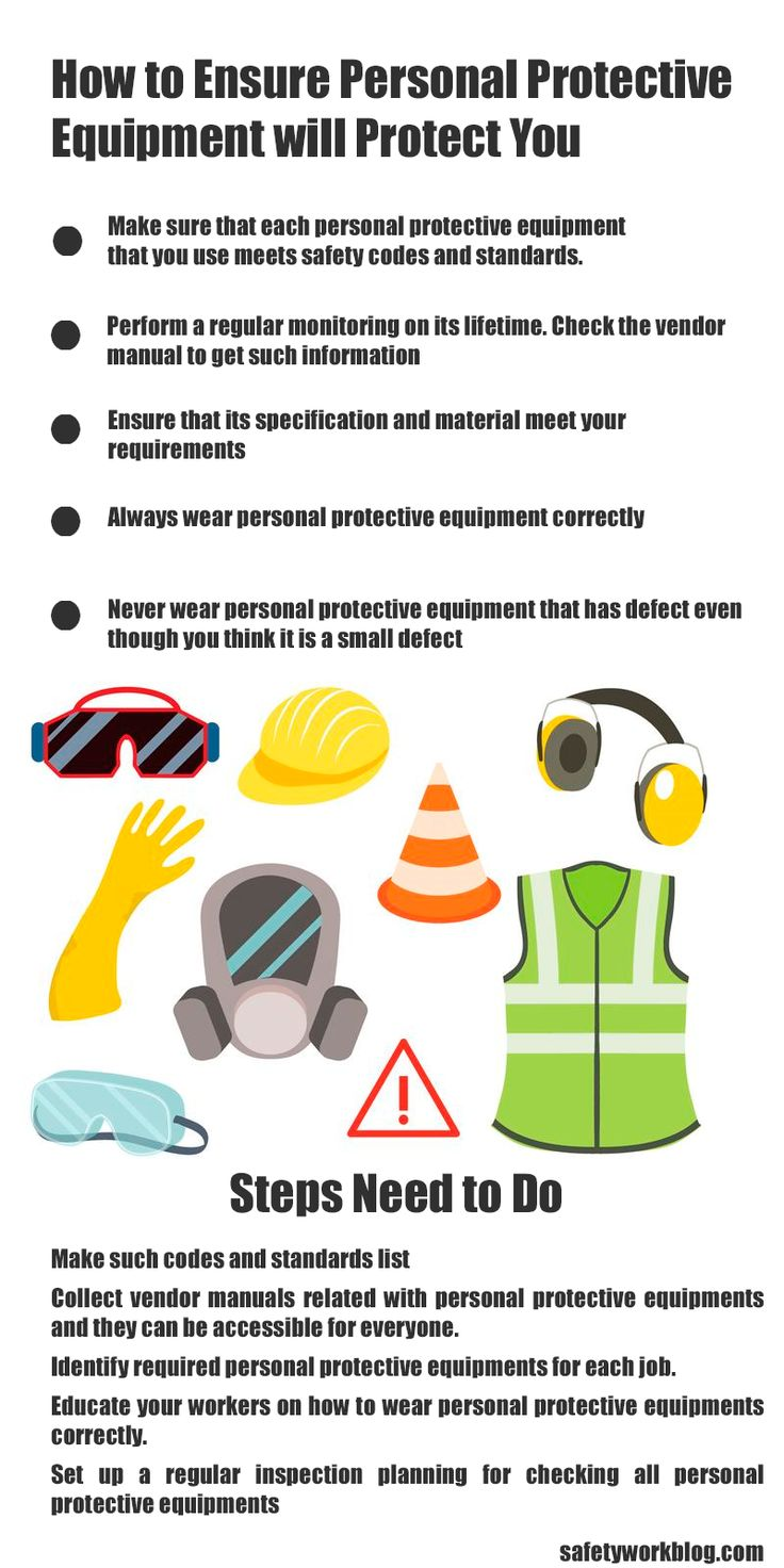How to ensure that PPE will protect you Safety talk