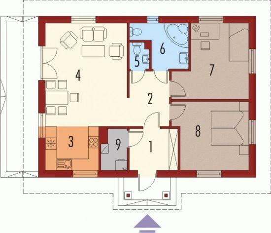 Case de vis mici cu doua dormitoare – 3 proiecte detaliate – Case De Vis