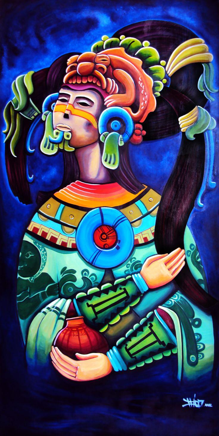 Mood Warrior. Oil on Canvas 1.70*1.50cm
