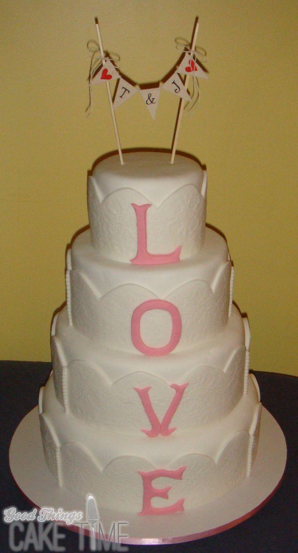 L.O.V.E cake