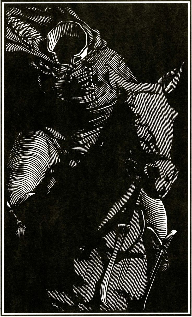 """fer1972: """" Barry Moser 1. Drácula 2. The Headless Horseman """""""