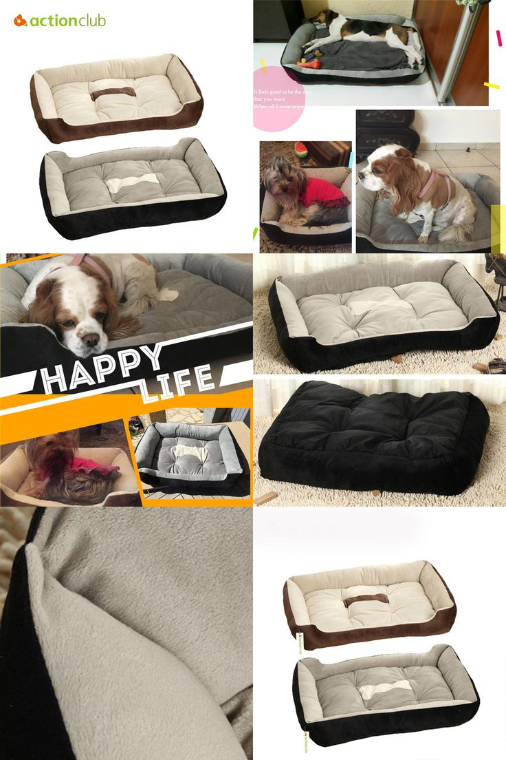 [Visit to Buy] Actionclub 6 Sizes House Pets Beds Plus Size Dogs Fashion Soft Dog House High Quality PP Cotton Pet Beds For Large Pets Cats #Advertisement