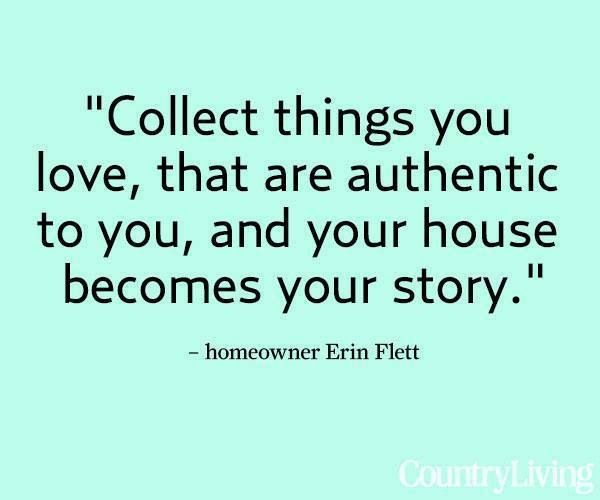 It's my story now and although some of that story is on another wall, I'm glad it is because I don't have to see it everyday