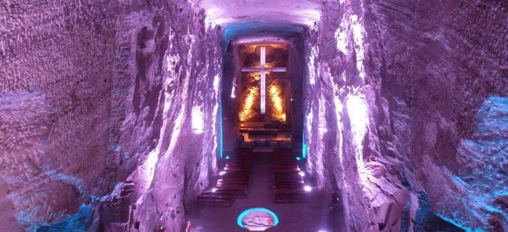 CATEDRAL DE SAL DE ZIPAQUIRA: EXCAVADA EN UNA ANTIGUA MINA