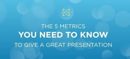 The 5 Metrics You Need to Know to Give a Great Presentation