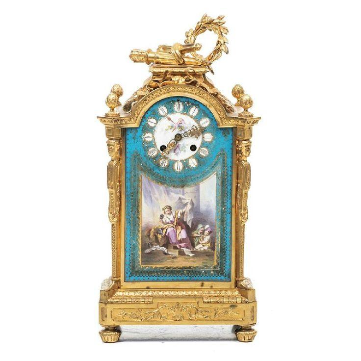 1409 Best Pendule Antique Uhren Images On Pinterest | Mantel