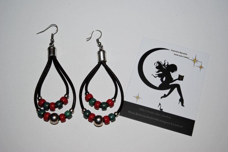 New boho earrings!!