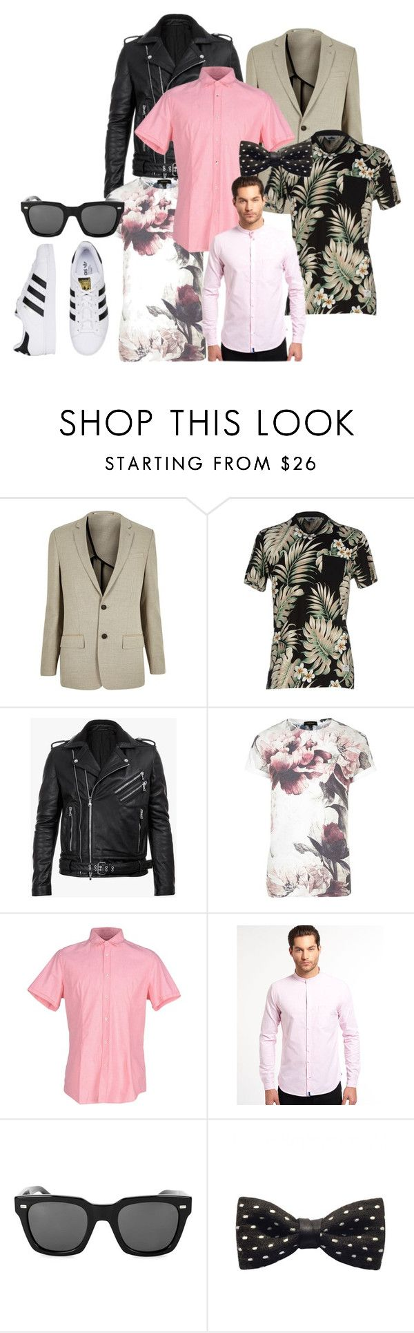 """night"" by rismasansella on Polyvore featuring River Island, Penfield, Balmain, Daniele Alessandrini, Superdry, Gucci, ZuZu Kim, mens, men and men's wear"