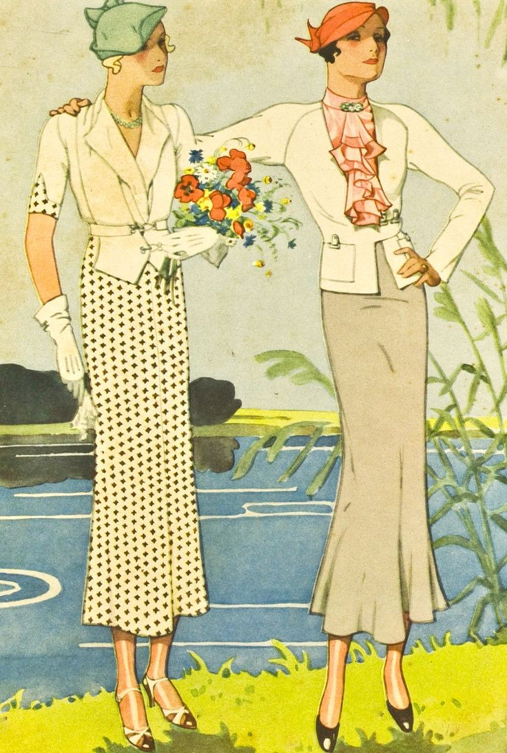 Women's fashion, 1932