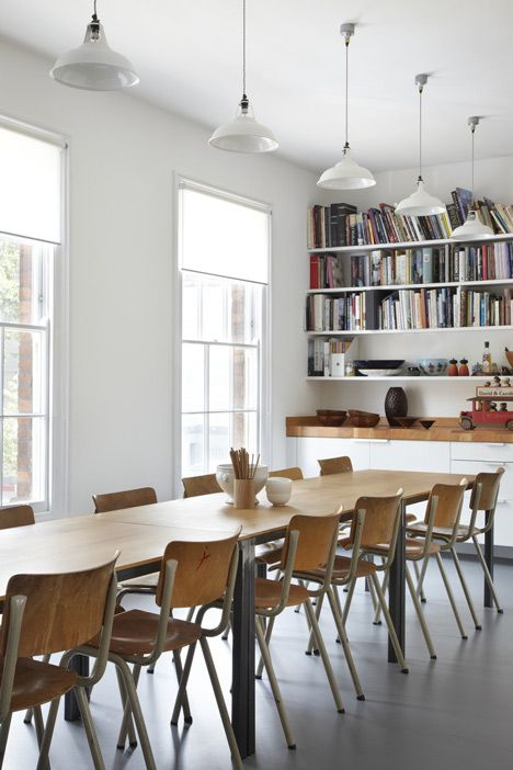 Eaton Terrace by Project Orange -    Architecture and interior design studio Project Orange have renovated and extended a home in central London to provide more practical spaces for a family that hosts a monthly dining club.