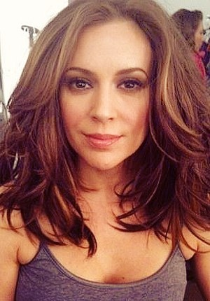 Alyssa Milano's awesome hairstyle!