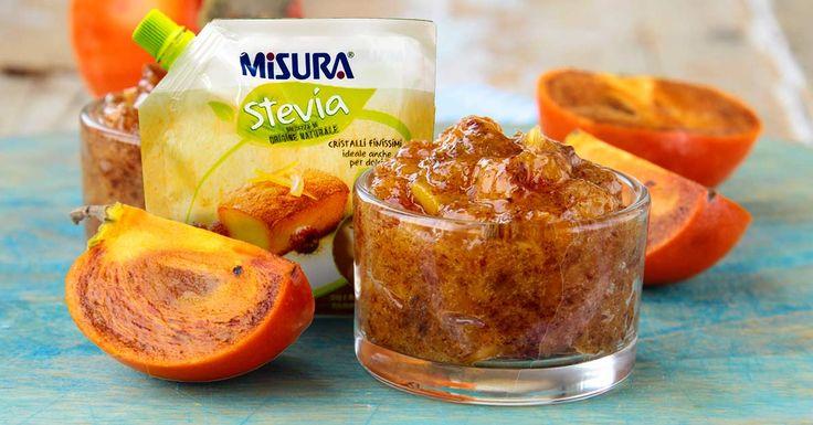 """Scoprite la ricetta della """"Confettura d'autunno di cachi"""", ottima sia per le crostate che per farcire torte e biscotti.  #recipe #jam #stevia"""