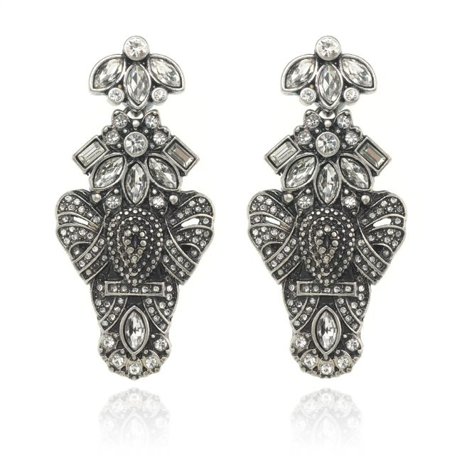 SAMANTHA WILLS - HEART OF ARIES EARRINGS - SILVER
