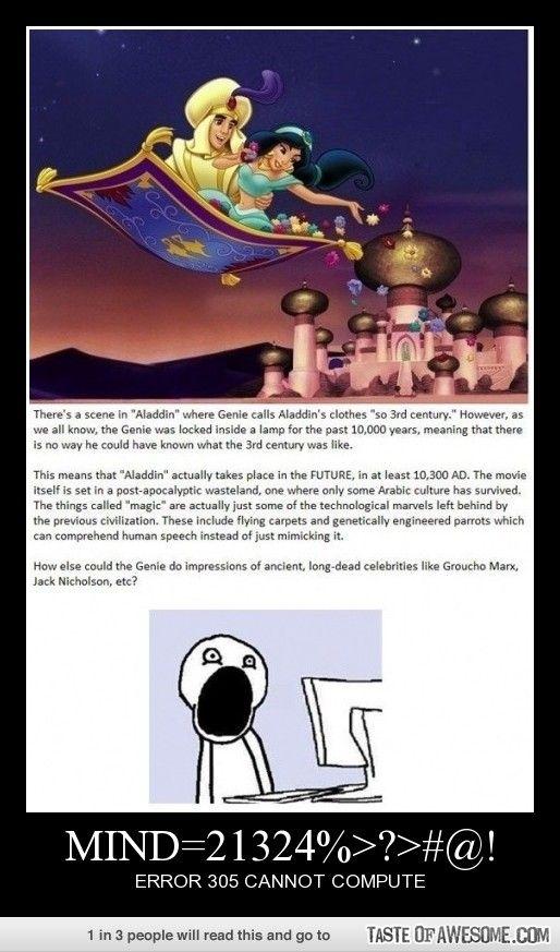 Mind=21324%>?>#@! Aladdin Theory