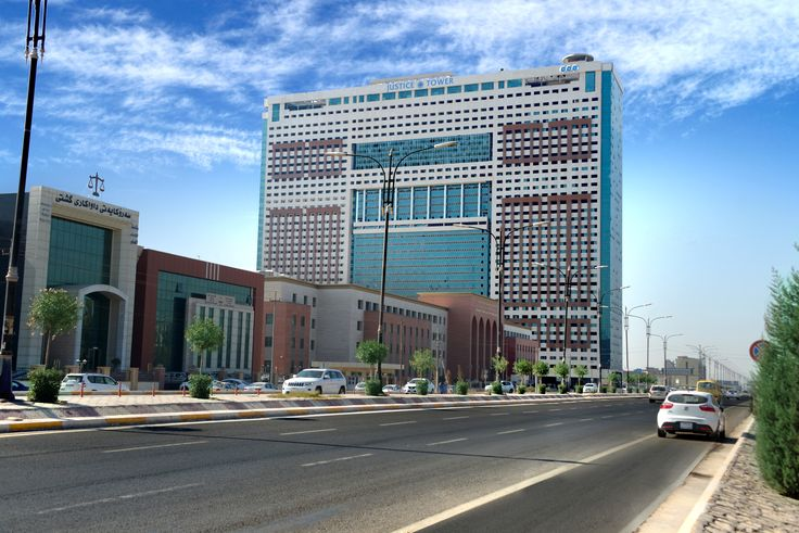 Huge Business center In Erbil, Offices Restaurants and more...