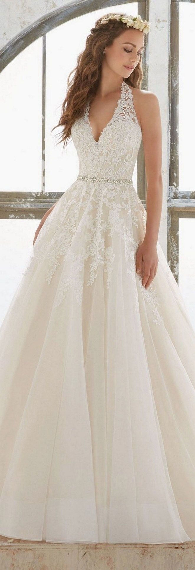 70 romantic valentine day wedding dress ideas (28)