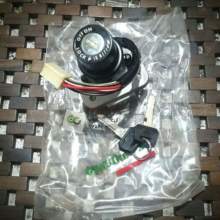 Kunci kontak Binter Merzy AR125 GTO machII Lock - Parking kabel 6 #binter #merzy #bintermerzy #kz200 #sparepart #part #accesoriesmotor #motorcycle #onderdil #sukucadang #parking #lock #ignition #stock #jogja