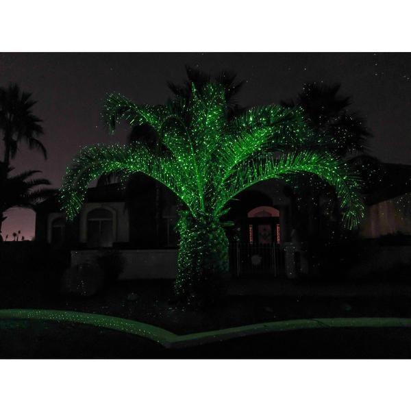 Sparkle Magic Illuminator Green Commercial Grade Laser Light Laser Lights Landscape Lighting Laser Lights Projector