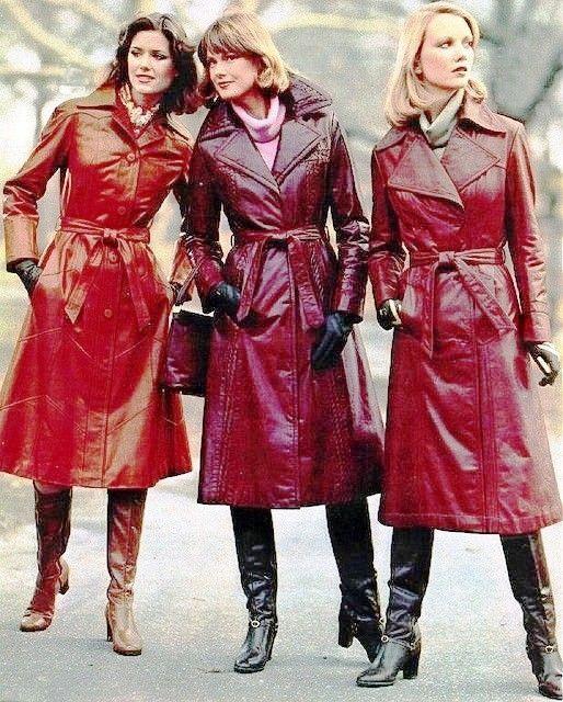 Vintage PVC Raincoats