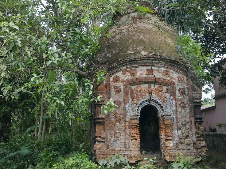 Ruined temple, Bengal