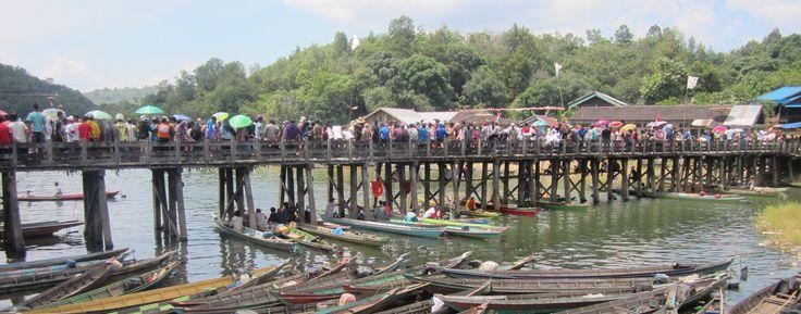 Boat Race Festival, Riam Kanan, South Kalimantan