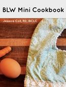 Free Mini BLW Cookbook from Jessica Coll. Baby led weaning expert, dietitian, and lactation consultant.   Baby led weaning, blw, blw ideas, blw recipes, blw first foods, baby first foods, baby recipes, weaning foods, first weaning food