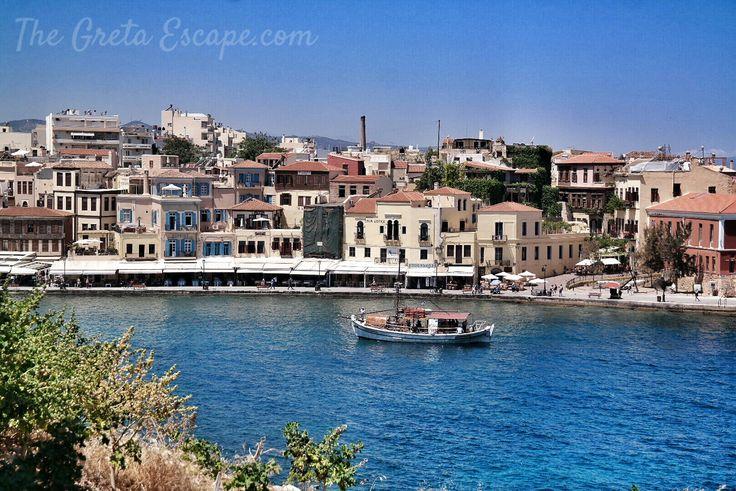 Pier of Chania, Crete