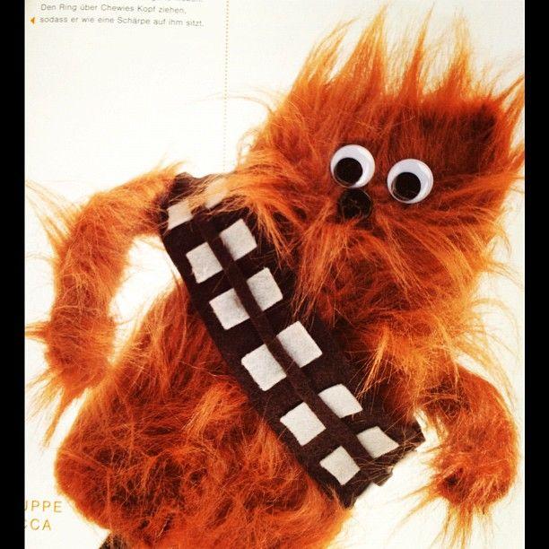 """""""Sockenpuppe Chewbacca"""""""