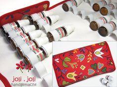 Globuli-Tasche für 36x10g-Fläschchen Reiseapotheke von joli.joli handgemacht auf DaWanda.com
