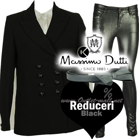 Reduceri in black in outletul Massimo Dutti | Outlet online