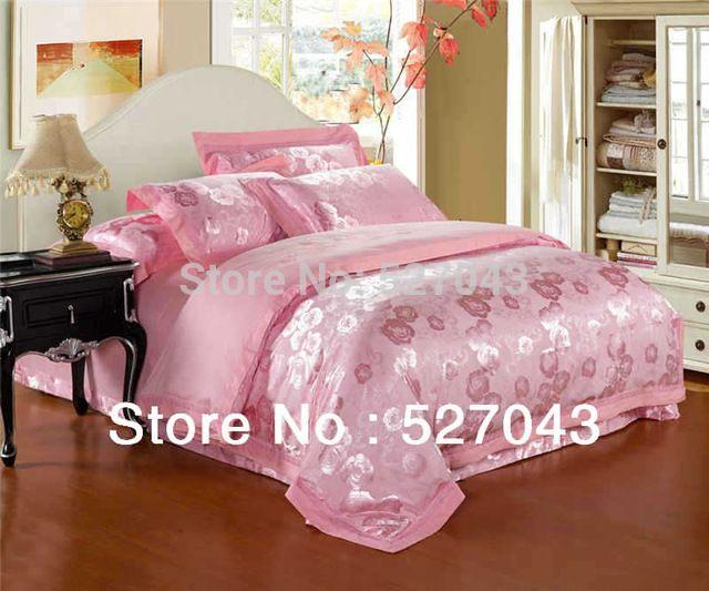 Red Hochzeit Rose 3D Ölgemälde druckgewebe 4 stücke Bettwäsche Set/Tröster setzt Full/Queen Size, 5PDN08