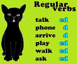 "Kata beraturan atau regular verbs di dalam bahasa inggris adalah kelompok kata kerja yang bentuk perubahan verb 2 dan verb 3 nya mengikuti aturan yang baku, yaitu dengan memberi akhiran ""-ed"". Bentuk perubahannya lebih mudah dipahami dibanding irregular verbs. Ada sekitar 600 regular verbs yang ada di dalam kosa kata bahasa inggris. Namun, yang saya"