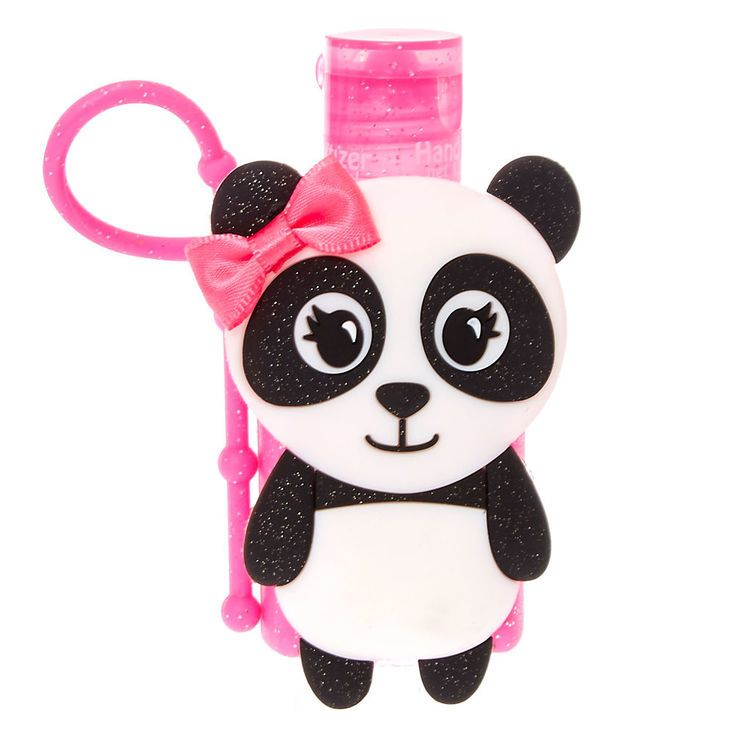 Claire S Maya The Panda Hand Sanitizer Fashion Accessories