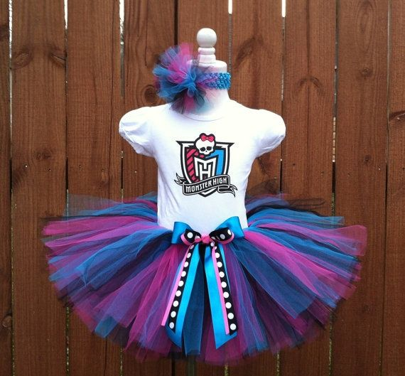 monster high tut party ideas | Beautiful Monster High Birthday Tutu Dress by ... | Party ideas